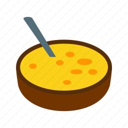catalana, cream, crema, dessert, food, sugar, yellow icon