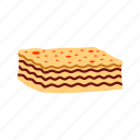 cheese, dinner, food, italian, lasagna, pasta, sauce icon