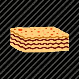 cheese, dinner, food, italian, lasagna, pasta, sauce icon