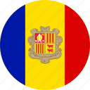 andorra, country, flag