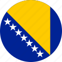 bosnia and herzegovina, country, flag
