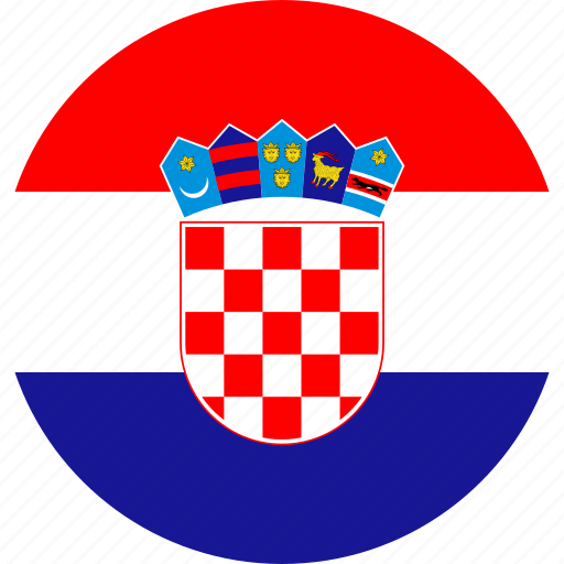 Croatia, country, flag, national icon - Download on Iconfinder
