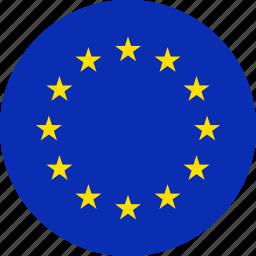 euro, europe, european, flag, flags icon