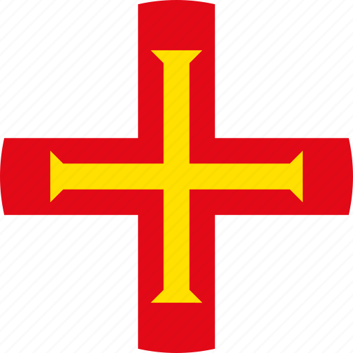 flag, guernsey icon