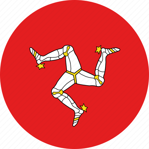 country, flag, isle of man icon