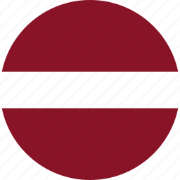country, flag, latvia icon