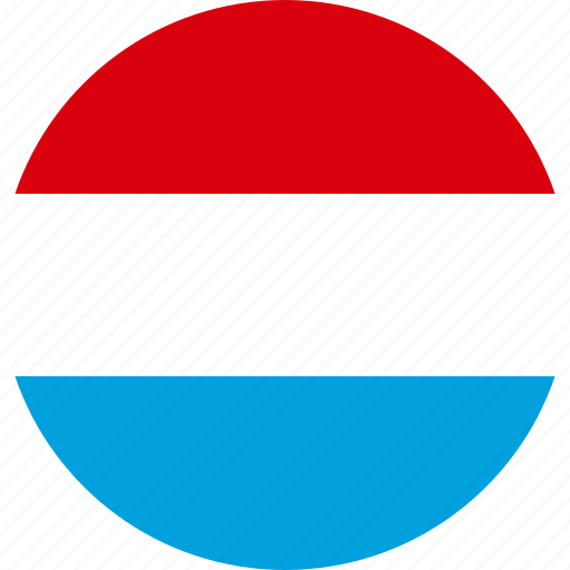 Luxembourg, country, flag icon - Download on Iconfinder