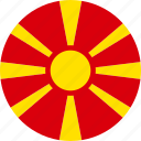 macedonia, country, flag