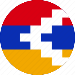 country, flag, nagorno-karabakh icon