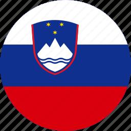 flag, slovenia icon