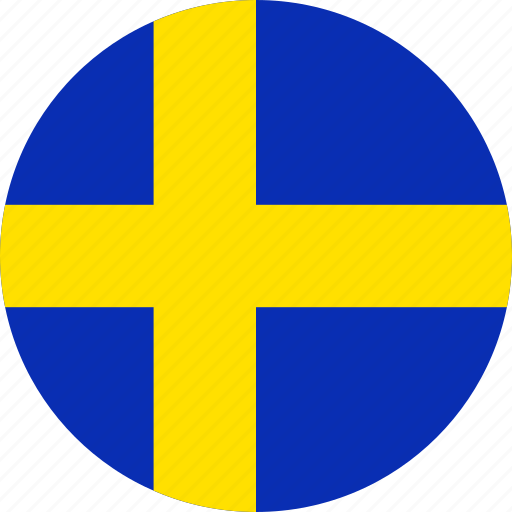 country, flag, national, sweden icon