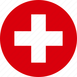 country, flag, national, switzerland icon