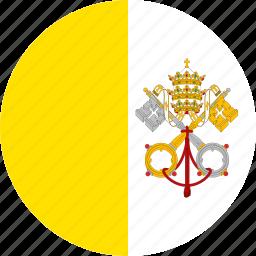 flag, vatican, vatican city icon