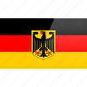 flag, germany, country, europe