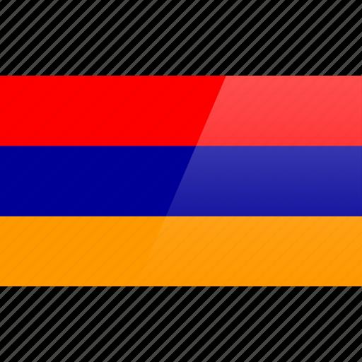 armenia, country, europe, flag icon