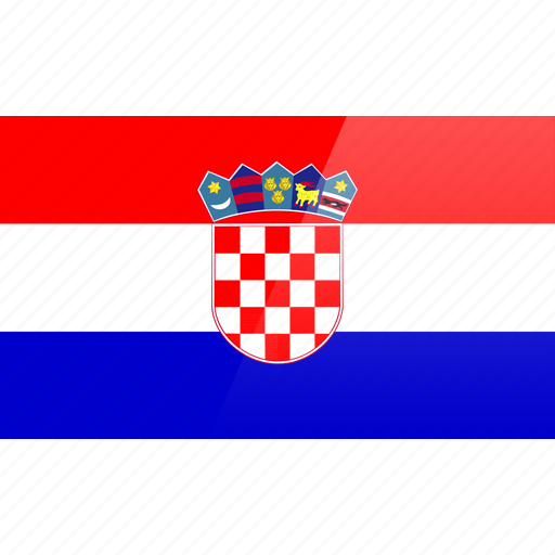 country, croatia, europe, flag, republic icon