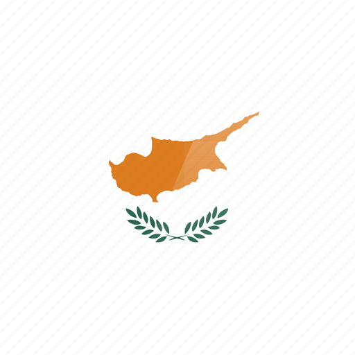 country, cyprus, europe, flag, republic icon