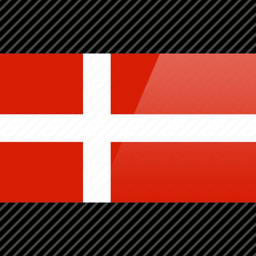 country, denmark, europe, flag icon
