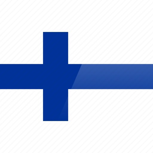 country, europe, finland, flag icon