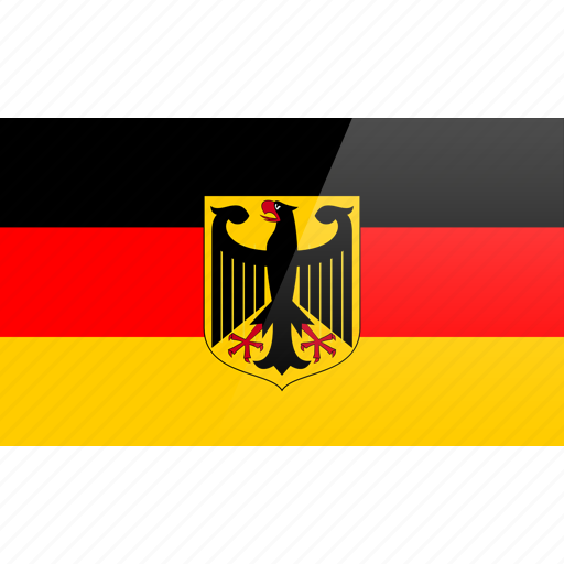 country, europe, flag, germany icon
