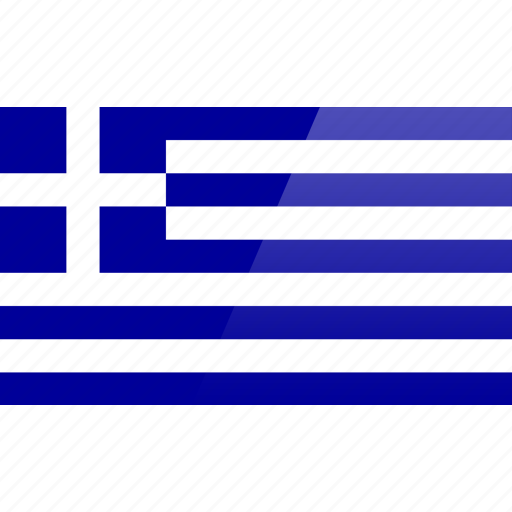country, europe, flag, greece icon