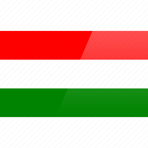country, europe, flag, hungary icon