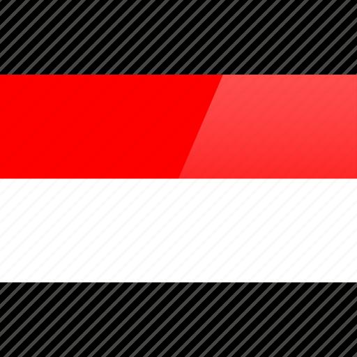 country, europe, flag, monaco icon