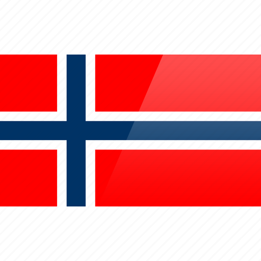 country, europe, flag, norway icon