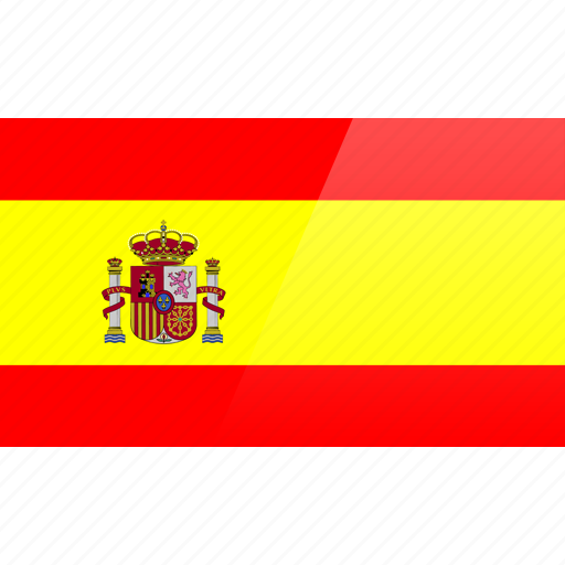 country, europe, flag, spain icon
