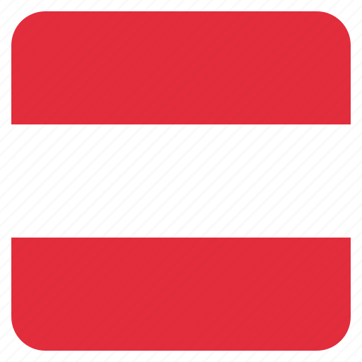 austria, austrian, country, flag, national icon