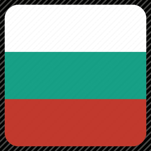 bulgaria, bulgarian, country, flag, national icon