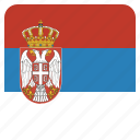country, flag, national, serbia, serbian