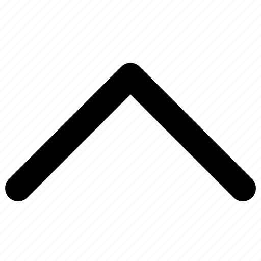 angle, arrow, direction, point, up, upwards icon