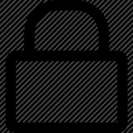 lock, locked, padlock, protection, security icon