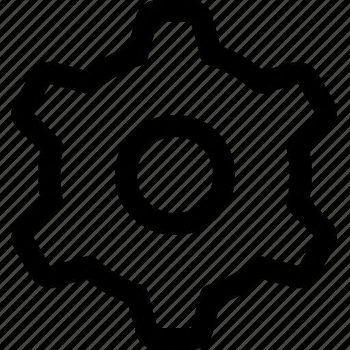 cog, gear, options, settings, wheel icon