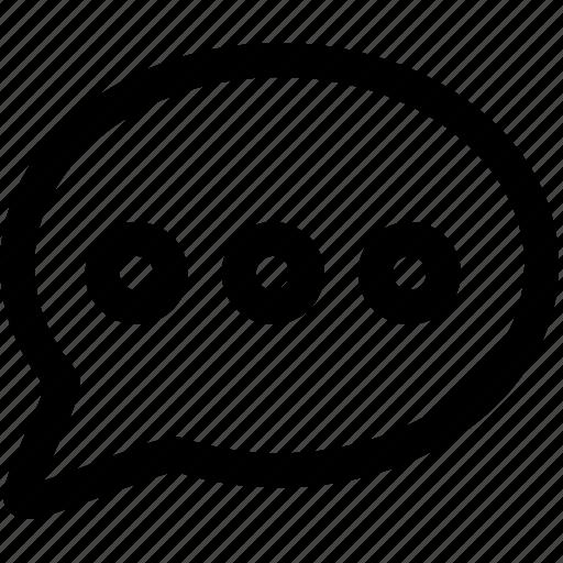 bubble, comment, commentary, speak, speech, talk icon