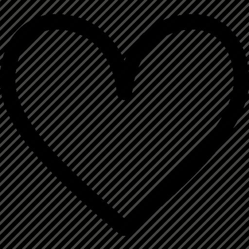 beat, favorite, heart, love, romance, valentine icon