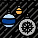 balloon, christmas, decorative, new, year icon