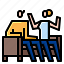 business, chat, conversation, discussion, message icon