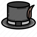 cylinder, hat, retro, vintage