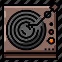 music, retro, sound, vintage, vinyl icon