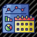 analytics, event, statistics icon
