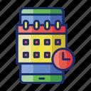 app, calendar, event, schedule icon