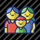 family, kids, parents
