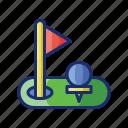 event, golf, sport icon