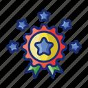 award, badge, star icon