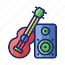 band, guitar, music