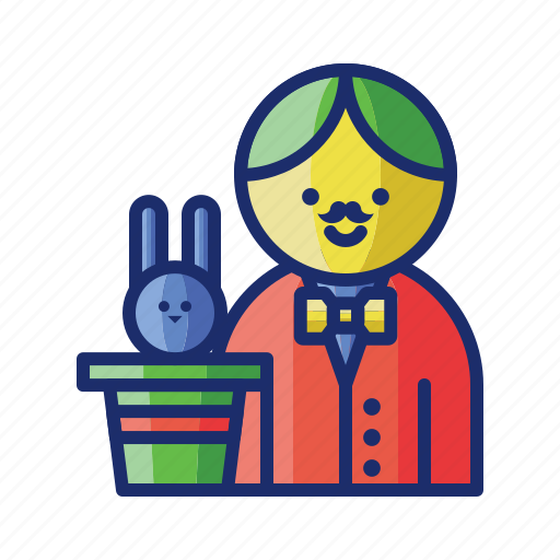 Hat, magic, magician icon - Download on Iconfinder