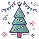 cedar tree, christmas tree, coniferous tree, decorated tree, evergreen tree, xmas tree