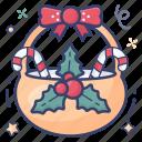 christmas basket, food bucket, food hamper, fruit basket, gift basket